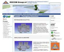 Discom Group Srl – Packaging Alimentare